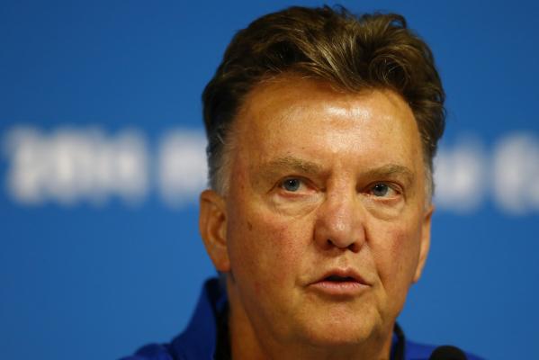"""""""Van Gaal jest jednym z najlepszych trenerów na świecie"""""""