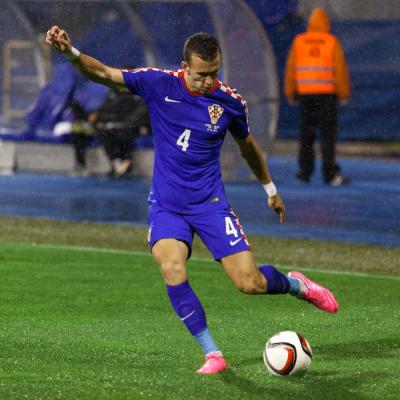 Gracz Chorwacji dziękuje Włochom