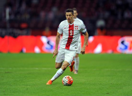 Lewandowski w najlepszej jedenastce eliminacji