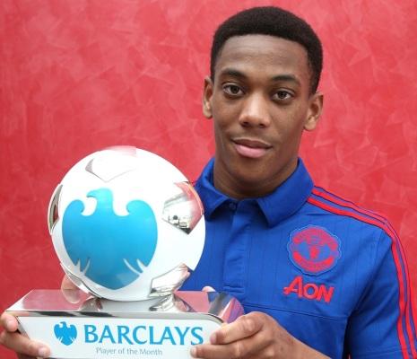 Martial piłkarzem miesiąca w Premier League