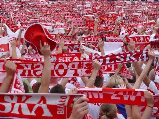 Polscy kibice tuż za Anglikami