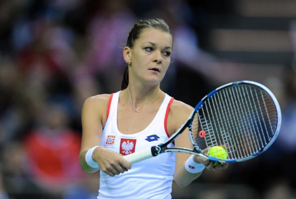 Radwańska w finale turnieju w Tiencin