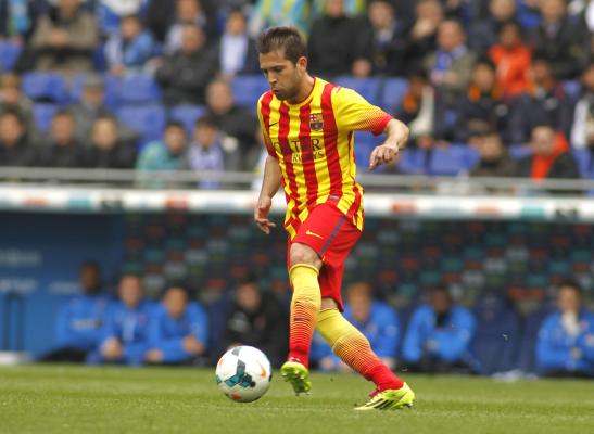 Jordi Alba: Nie winię sędziego. Prowadził mecz bardzo dobrze