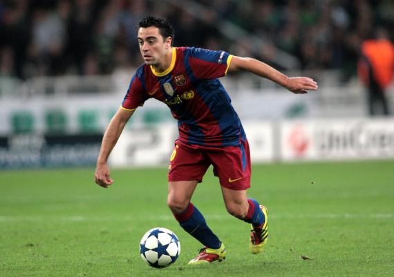 Xavi: Barcelona to najlepszy klub na świecie