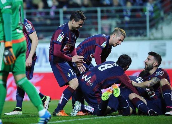Eibar wygrywa derby Kraju Basków