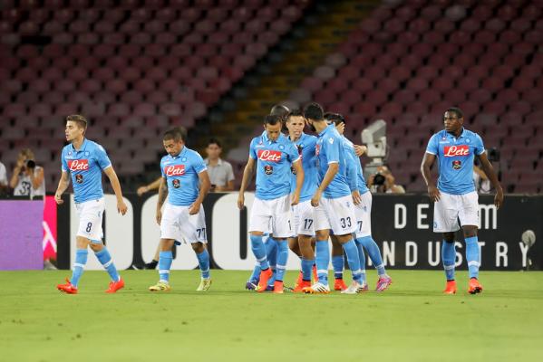 Wysoka wygrana Napoli, hat-trick Mertensa