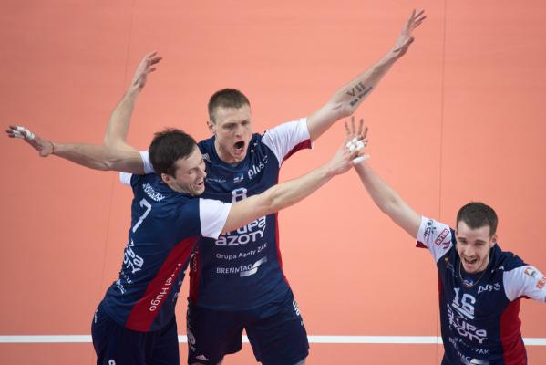 ZAKSA bliżej mistrzostwa Polski, Skra trzeciego miejsca