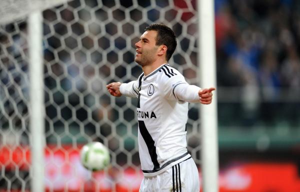 Legia rozgromiła Cracovię, pierwszy gol Hamalainena w nowym klubie