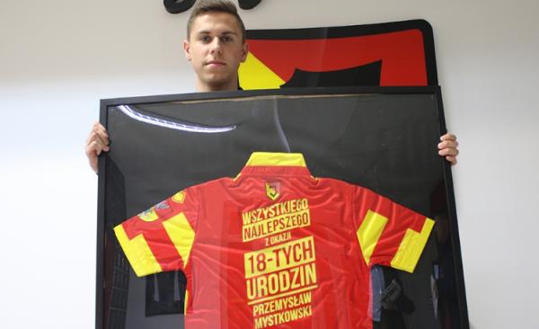 Mystkowski podpisał kontrakt z Jagiellonią