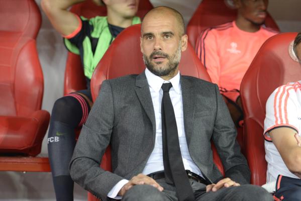 """Guardiola zadowolony mimo porażki. """"Graliśmy naprawdę dobrze"""""""