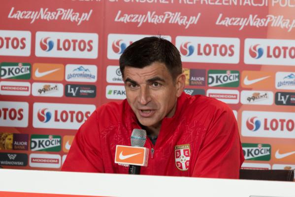 Serbia rozstała się z selekcjonerem kadry piłkarzy