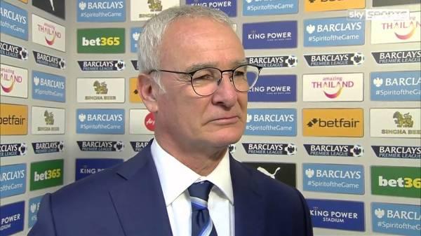 Leicester City mistrzem Anglii w niedzielę? Ranieri: Chcemy happy endu jak w amerykańskim filmie