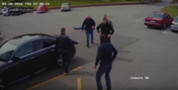 Kibole Partizana pobili prezesa klubu [VIDEO]