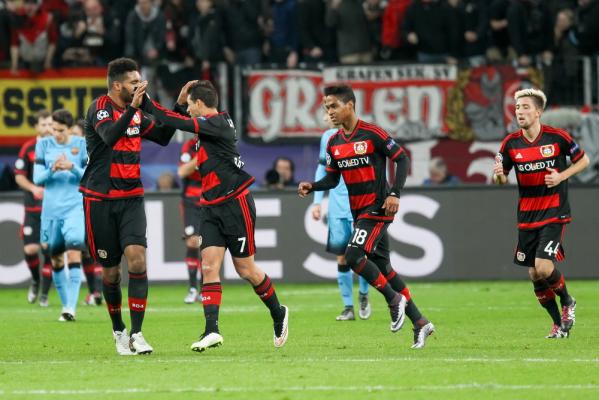 Bayer Leverkusen wygrał i zapewnił sobie miejsce w LM
