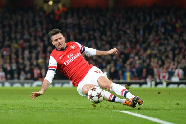 Oliver Giroud: Arsenal musi grać dużo lepiej