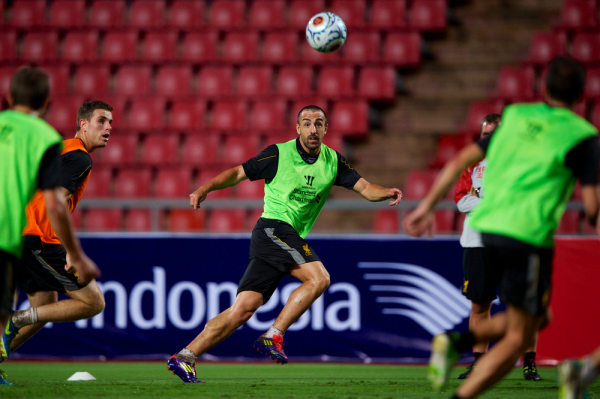 Jose Enrique odszedł z Liverpoolu