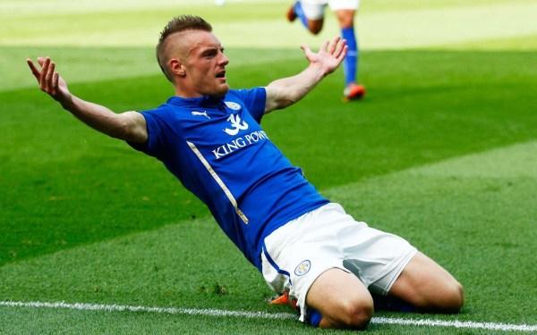 """Vardy nie zamierza odchodzić z Leicester. """"Jestem tutaj szczęśliwy"""""""