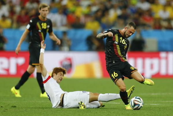 Kolejne osłabienie Belgii na EURO 2016