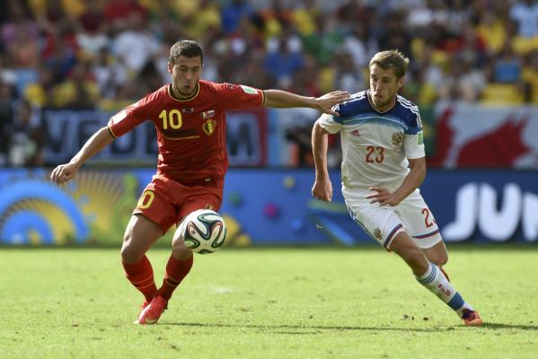 Wilmots odkrył karty. Kadra Belgii na EURO 2016