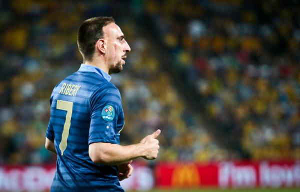 Ribery: Nie mam ochoty grać dla Francji