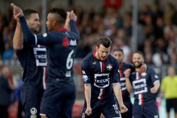 Baraże o Eredivisie: Willem II przegrał w Bredzie