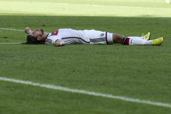 Khedira nie zagra w finale Pucharu Włoch