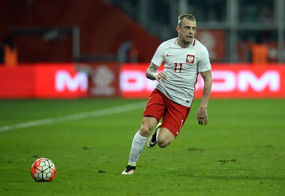 Kamil Grosicki zagra dopiero w meczu z Niemcami?