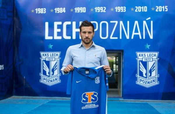 Makuszewski oficjalnie czwartym wzmocnieniem Lecha