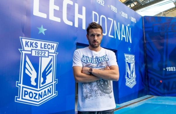 Makuszewski: Cieszę się, że Lech był tak zdeterminowany, by mnie sprowadzić