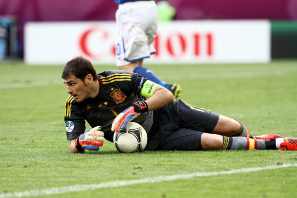Casillas: Zakończę karierę wtedy gdy Buffon