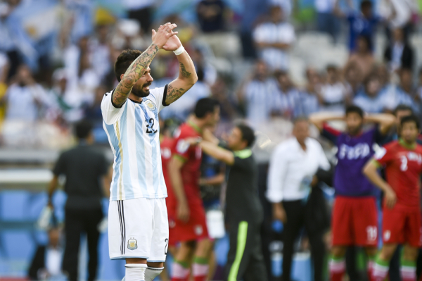 Argentyna z kompletem zwycięstw w grupie D