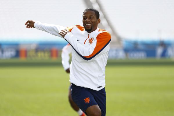 AS Roma bliska transferu Wijnalduma