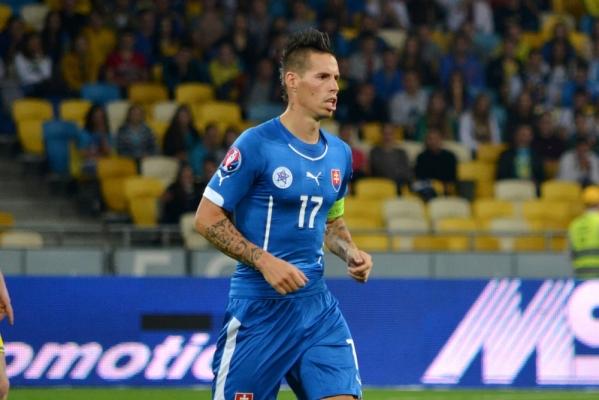 Kapitalny gol Hamsika! Słowacja wygrała z Rosją [VIDEO]