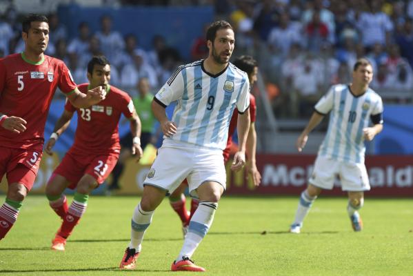 Koncert Higuaina i Messiego, Argentyna w półfinale Copa America