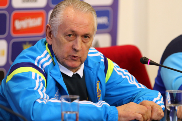 Trener Ukrainy odchodzi po EURO 2016
