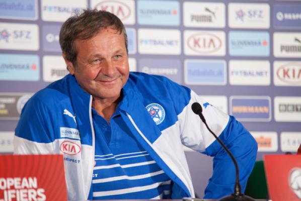 Trener Słowacji: Z Anglią zagramy w innym składzie