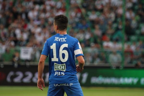 Jevtić opuścił zgrupowanie Lecha, w piątek przejdzie zabieg