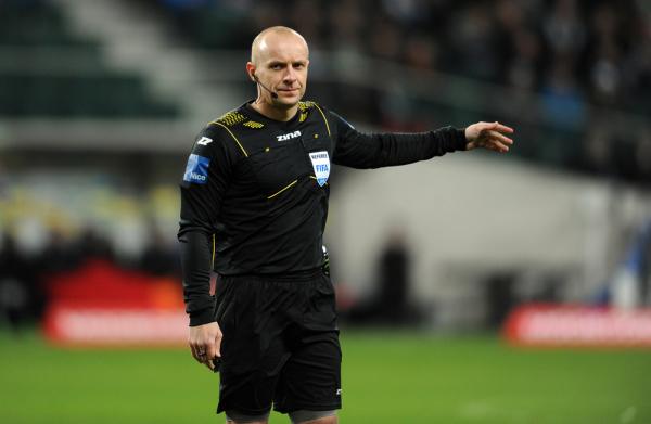 Szymon Marciniak poprowadzi mecz w 1/8 finału EURO
