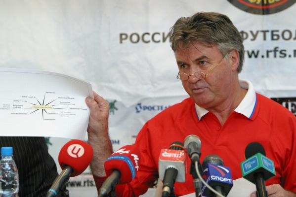 Hiddink znów chciałby trenować Rosję