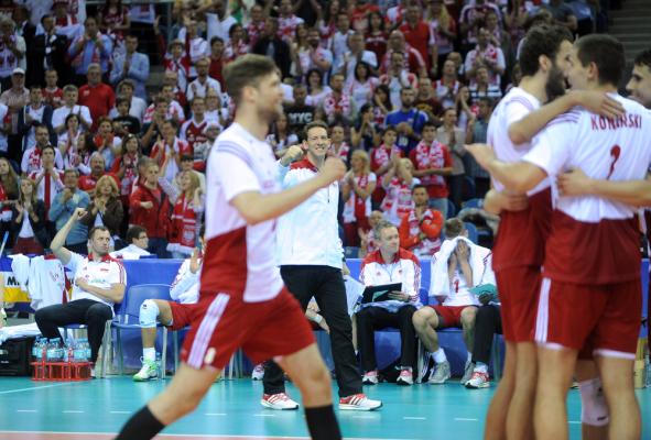Siatkówka: Skandaliczna wpadka sędziego podczas meczu Polaków