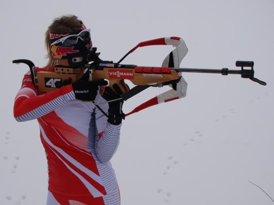 Najlepsza polska biathlonistka powoli wraca do zdrowia