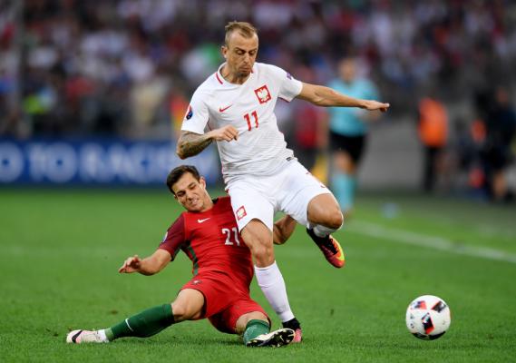 Rekordowa oglądalność meczu Polska - Portugalia