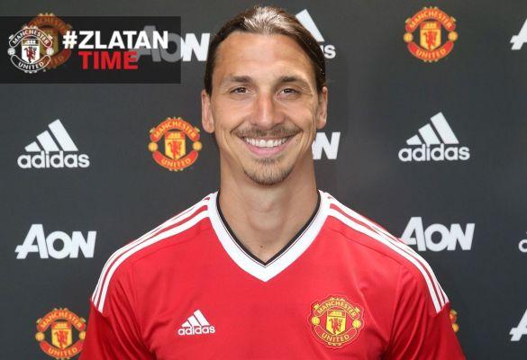 Oficjalnie: Zlatan Ibrahimović piłkarzem Manchesteru United