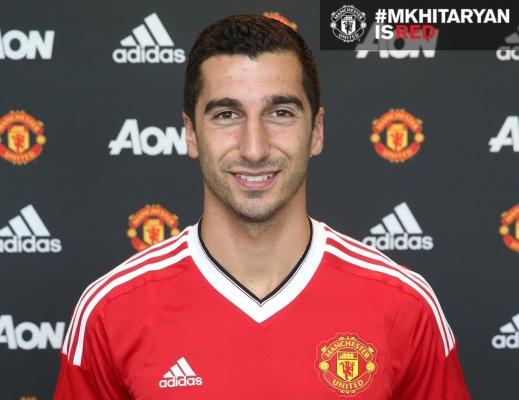 Oficjalnie: Mchitarjan piłkarzem Manchesteru United