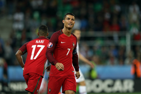 Nani i Ronaldo! Portugalia prowadzi z Walią 2:0! [VIDEO]