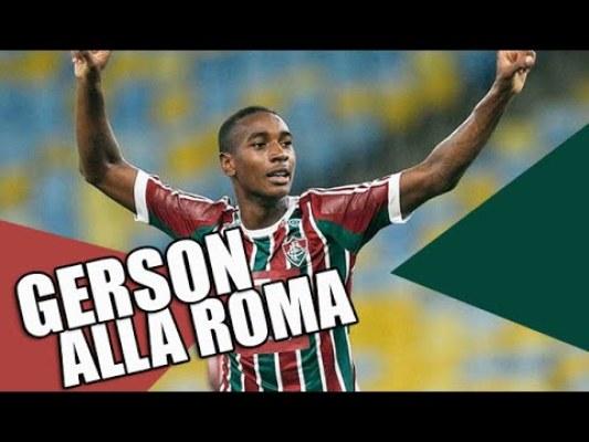 AS Roma pozyskała Gersona Santosa