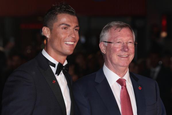 Alex Ferguson pogratulował Cristiano Ronaldo [VIDEO]