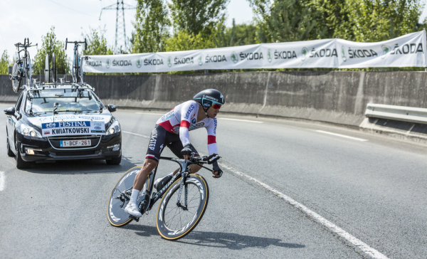 Tour de Pologne: Zacięty finisz, Kwiatkowski w czołówce