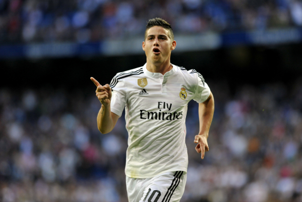 Marca: James Rodriguez może opuścić Real Madryt