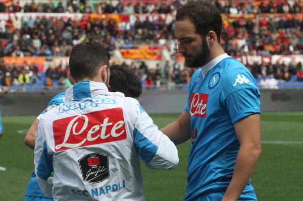 Napoli nie zamierza negocjować z Juventusem transferu Higuaina